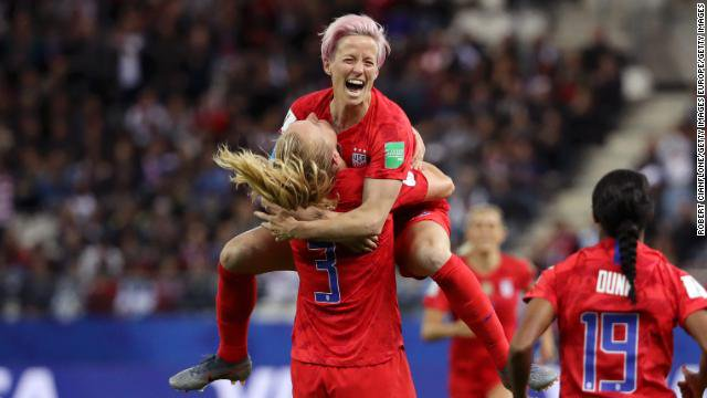 The US women's soccer team breaks a scoring record, handing Thailand the heaviest defeat in World Cup history https://t.co/EJRABZeH15 https://t.co/WcB3IIb4n4