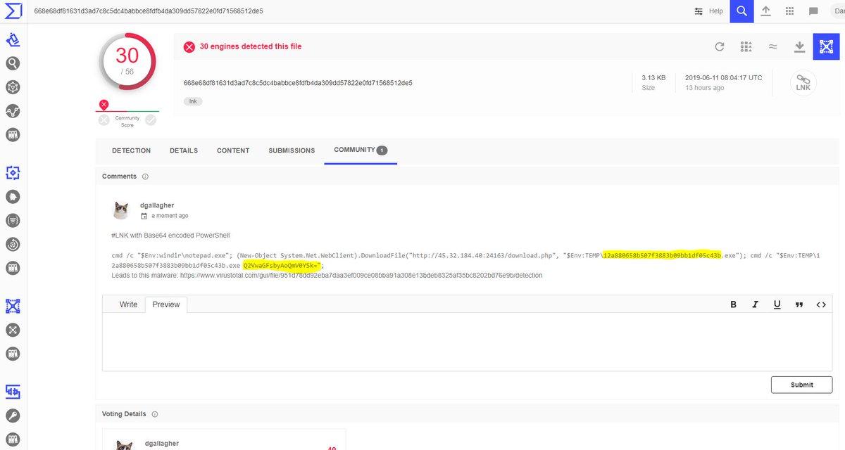 Powershell Run Base64 Encoded File