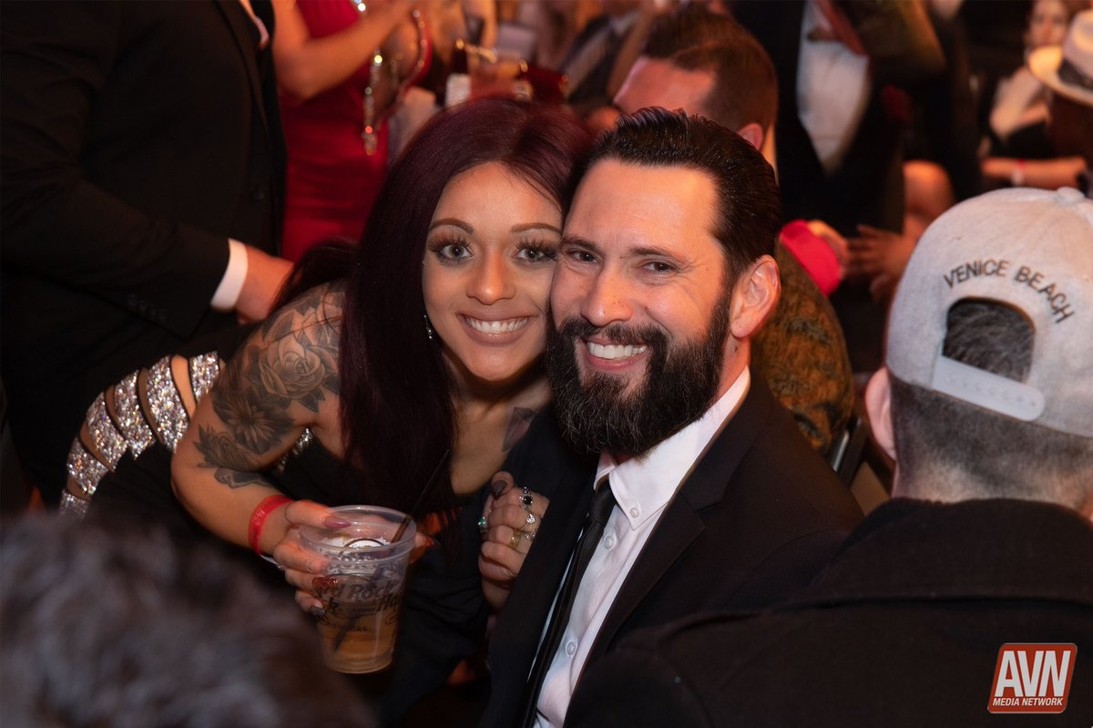test Twitter Media - RT @avnawards: Love how happy and excited @hollyhendrix_ and @TommyPistol are at the #AVNAwards https://t.co/6Ef6JVbZMq