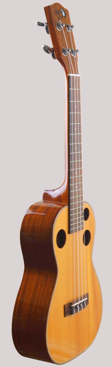 acoustica lani 3 hole concert ukulele