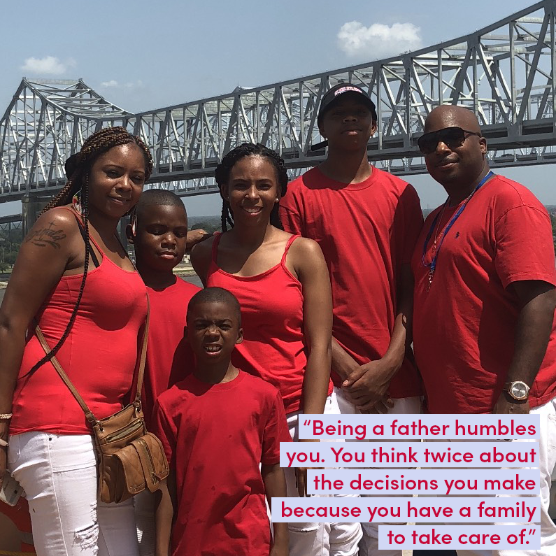 Today, we're recognizing fathers and father figures who inspire us, counsel us, and support us — like New Orleans-based driver Reginald. His experiences as a father frame the way he thinks about giving rides making sure everyone always feels comfortable and taken care of.