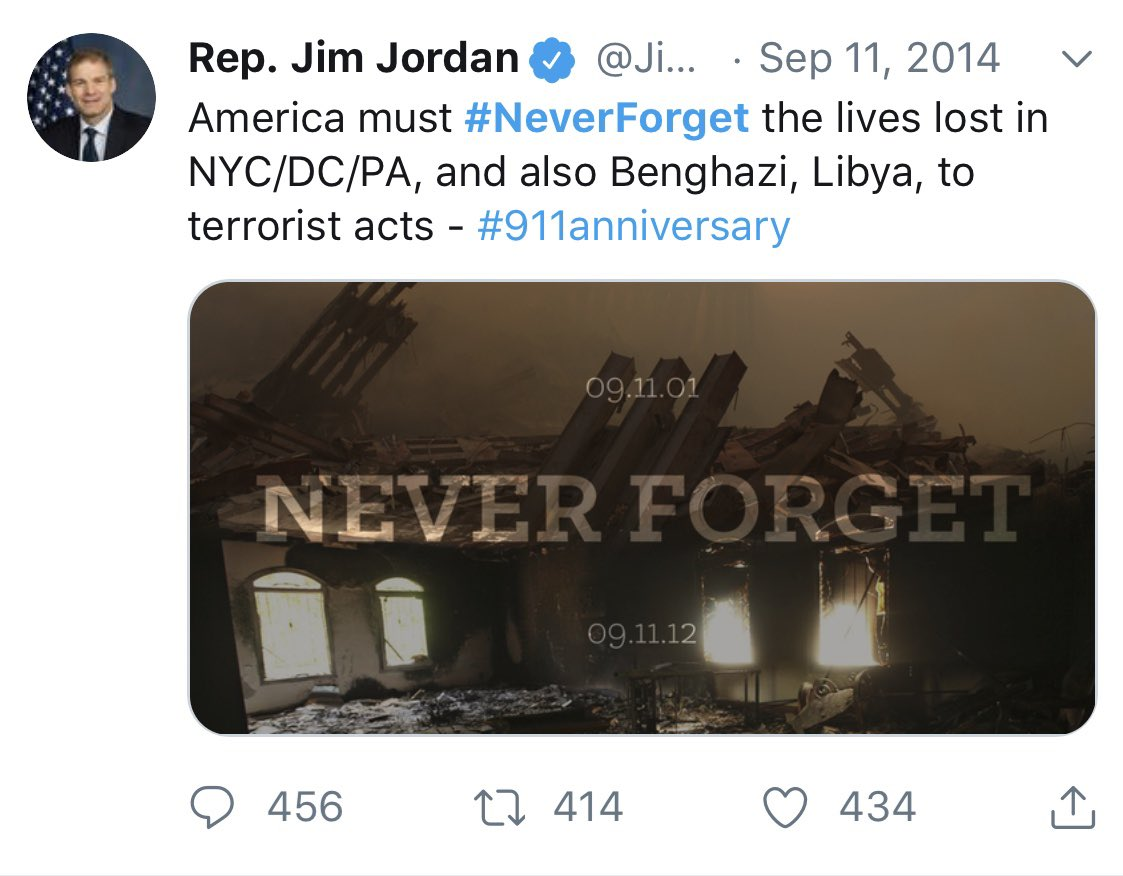 RT to show @Jim_Jordan we'll #NeverForget how he turned his back on 9/11 first responders. <br>http://pic.twitter.com/LyKAlDUsEi