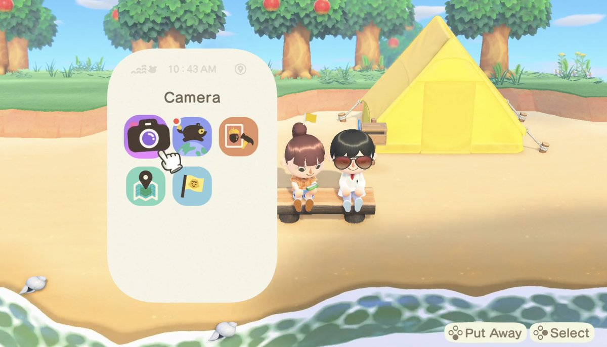 animal crossing new horizons camera mode