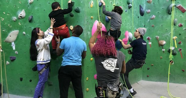 #DYK recreational rock wall climbing presents an interesting possibility for patients with physical disabilities? Lorene Janowski, pediatric occupational therapist at HSS, provides her knowledge on the many benefits for kids & young adults: http://ow.ly/mBKd50uBsGX. #HSSKids