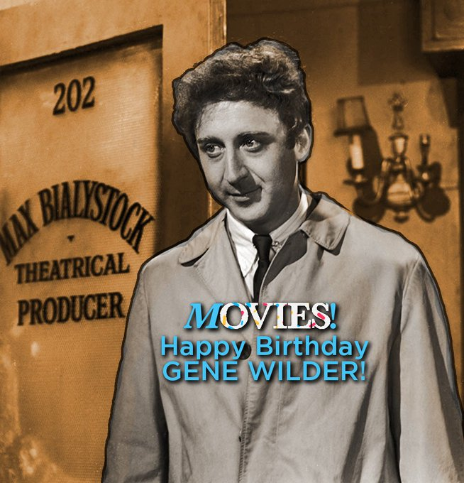 Happy Birthday Gene Wilder!  Know what film this is from?   (Pst, the background gives it away.)