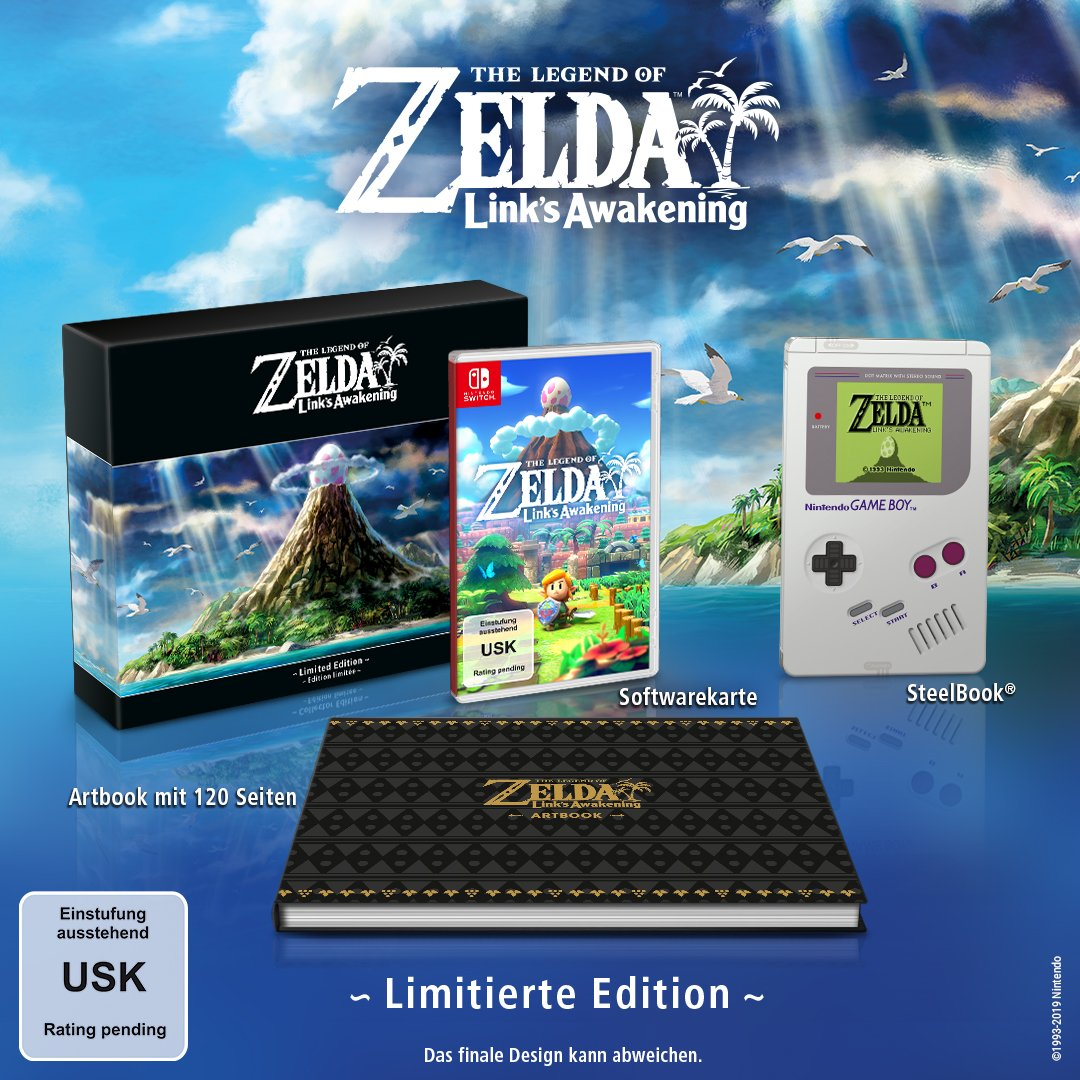 Limited Edition Link's Awakening