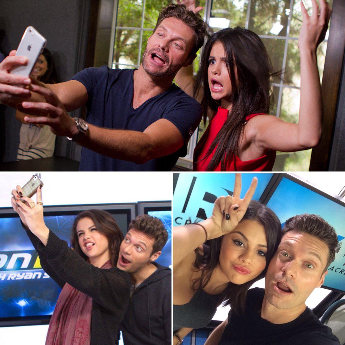 Tomorrow @selenagomez stops by #kellyandryan! See you soon SG – let's add another selfie to the album.
