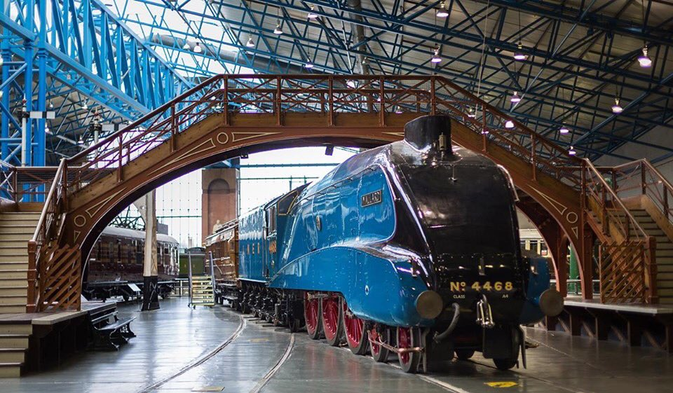 Fantastic museum just a short walk from us. Also there is a shuttle train that picks up right outside the hotel and takes you directly to the National Railway Museum.🚊#nrm #attraction #visityork #sightseeing #trains #museum #shuttle #mustsee #freeentry #local #york #city https://t.co/loMRuuKWrb