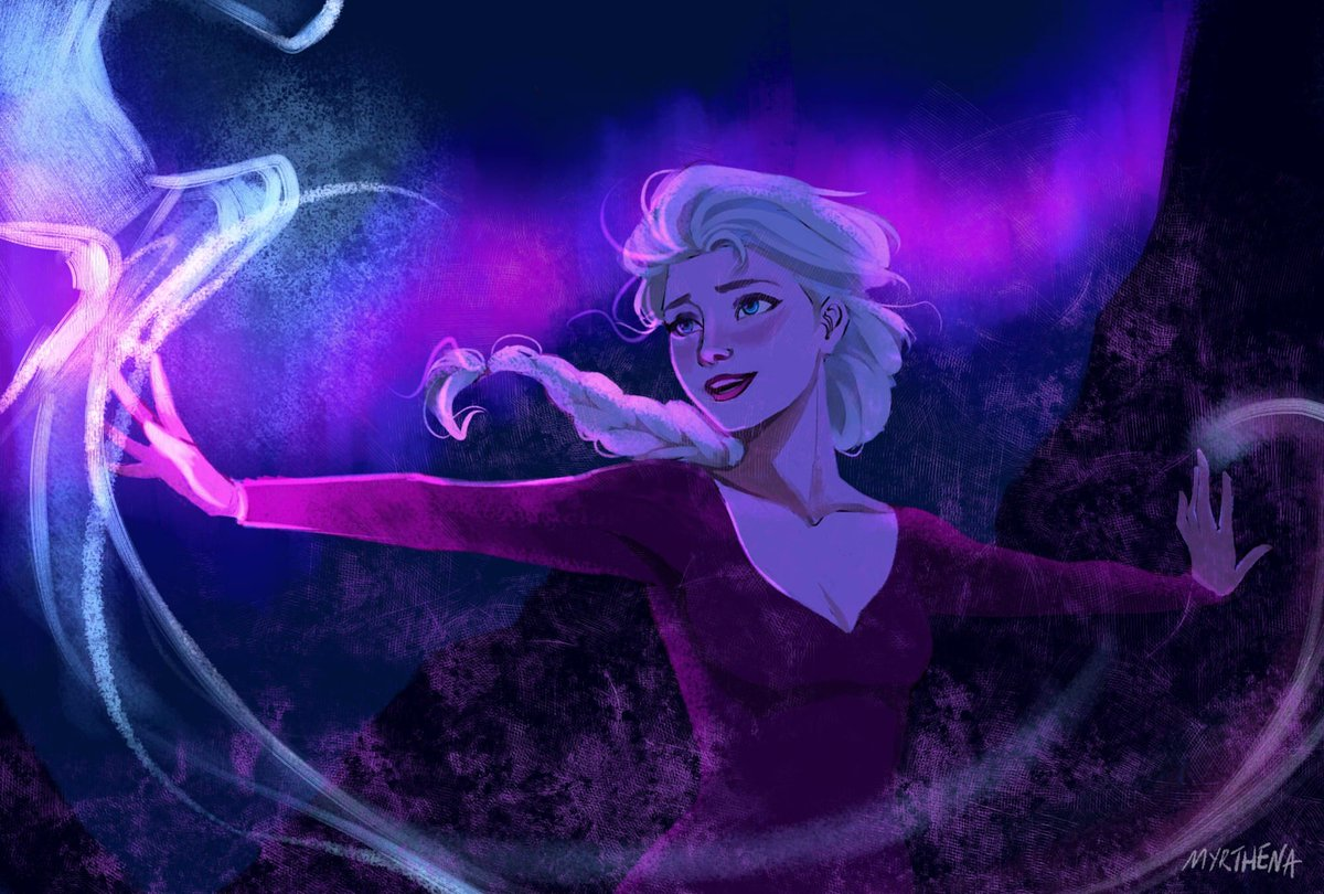 Elsa created the aurora borealis. we are not worthy #Frozen2 #Frozen<br>http://pic.twitter.com/6rPxzfEyqX