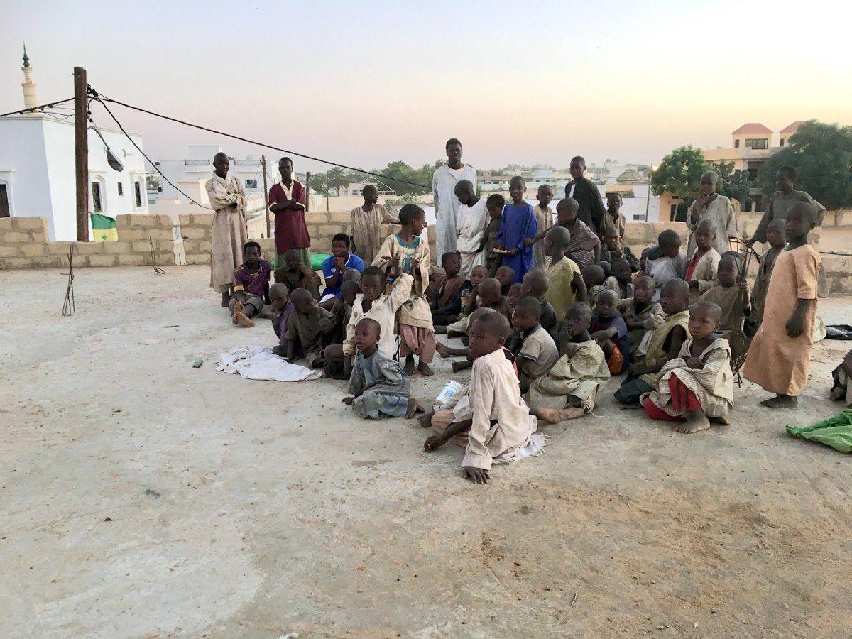 New @hrw report documents 16 #talibé child deaths + severe abuse, exploitation, neglect of children living in many of #Senegal's Quranic schools. President Macky Sall should use second term to carry out large-scale, concrete measures to protect talibés https://www.hrw.org/news/2019/06/11/senegal-unchecked-abuses-quranic-schools…