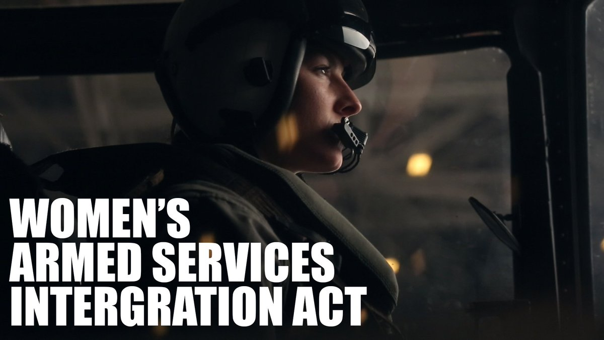 Today, 71 years ago, President Harry S. Truman signed the Women's Armed Services Integration Act into law and made women a permanent part of the regular Marine Corps.  Semper Fi, Marines.