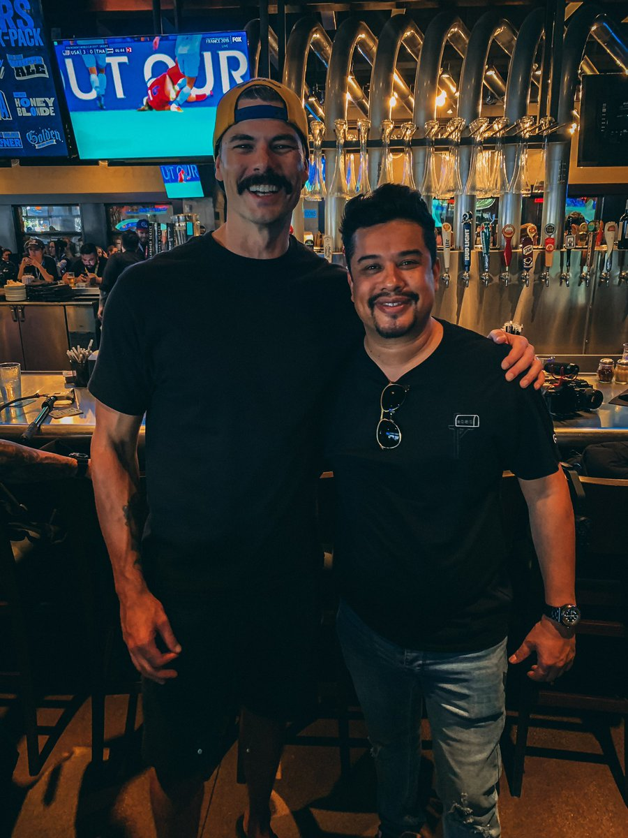 Always great catching up with my brother @drdisrespect, known this dude since 2009! How wild is that.