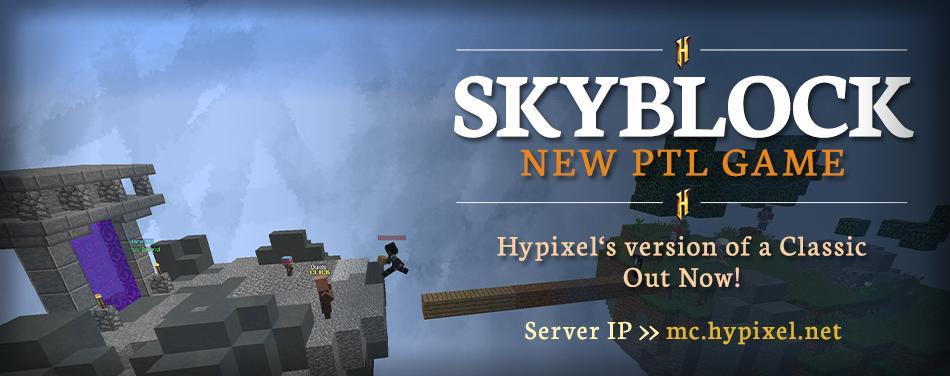 Hypixel Server (@HypixelNetwork) | Twitter