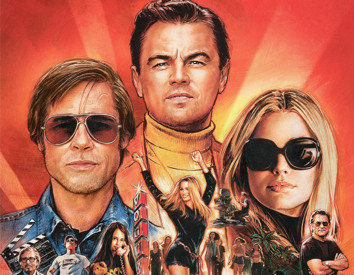 Check Out The Brand New Montage Poster For Once Upon A Time In Hollywood!   https://t.co/8CIG5zQQ0I  #OnceUponATimeInHollywood #LeonardoDiCaprio #BradPitt #MargotRobbie https://t.co/Ml8xJBNAQV