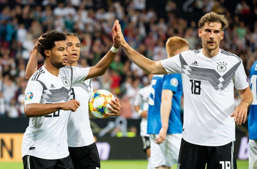 نتيجة بحث الصور عن Germany 3-0 Estonia