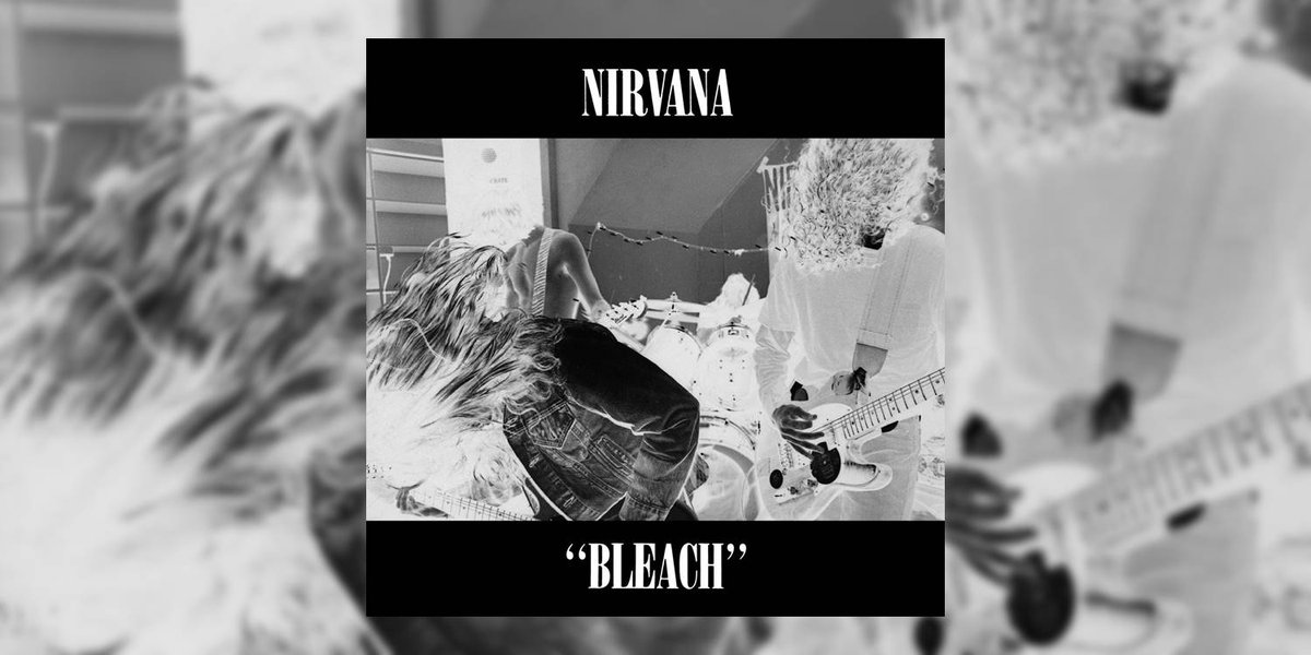 Celebrating @Nirvana's debut album 'Bleach' (1989) originally released 30 years ago this week! Check out our retrospective tribute by @RiffsandMeaning + listen to the album here: http://bit.ly/2INle0H  @subpop