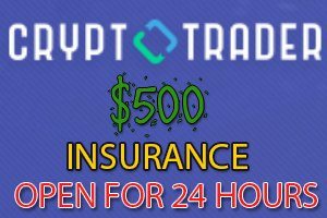 Image for CRYPTO TRADER Insurance open till 24 HOURS.