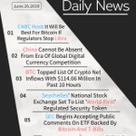 Image for the Tweet beginning: Daily News @CNBC @PDChina @BTC @Seychelle