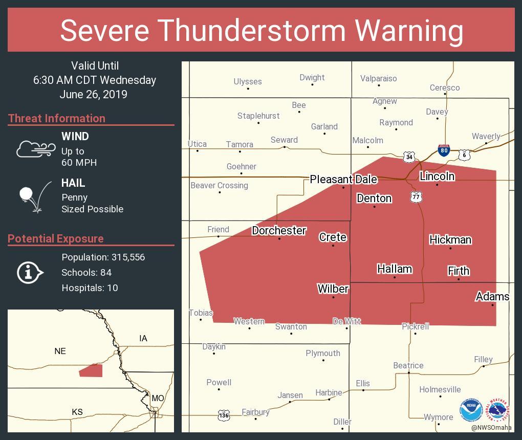 Nws Severe Tstorm On Twitter Severe Thunderstorm Warning