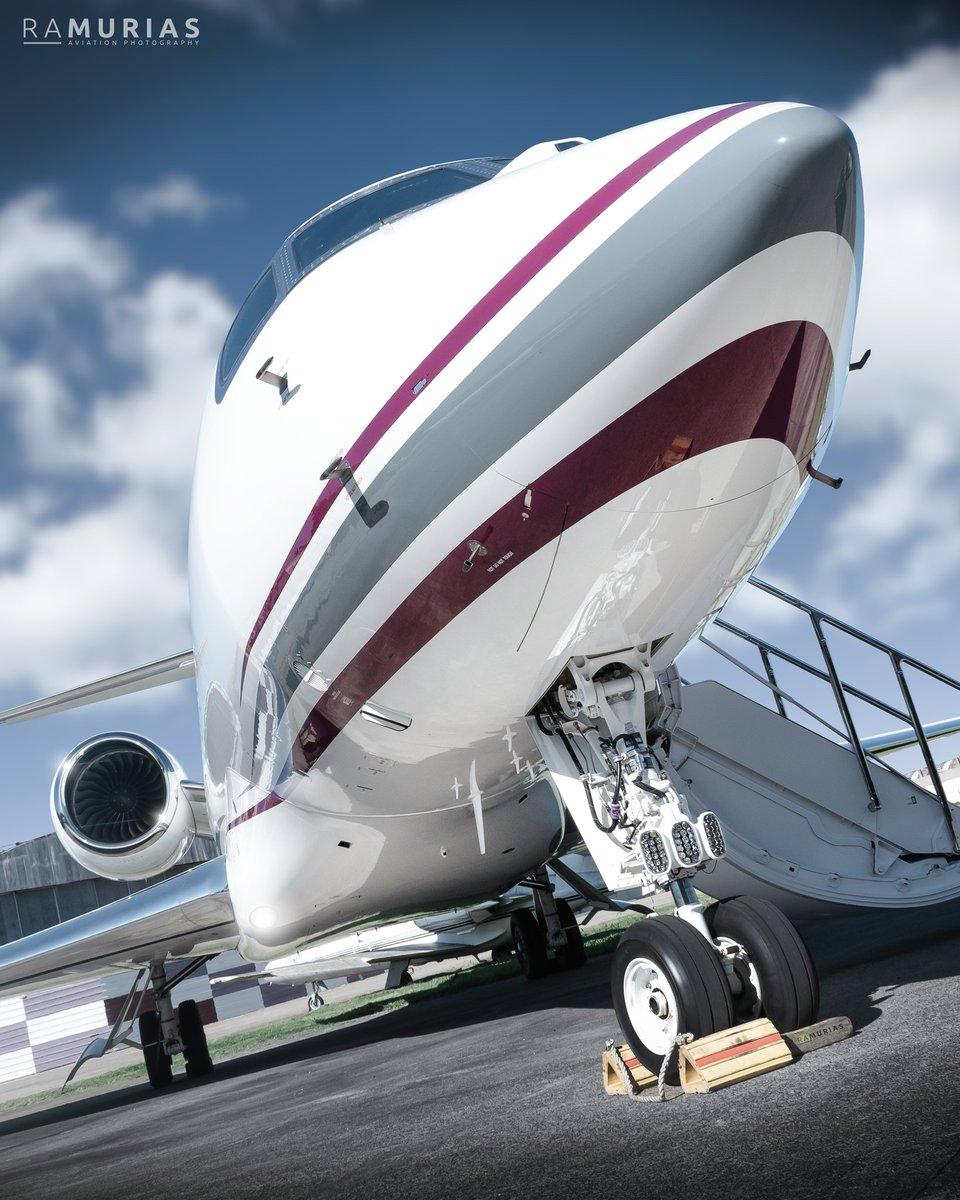 Ese ángulo y LA perfección que hace @GulfstreamAero 😍😍😍