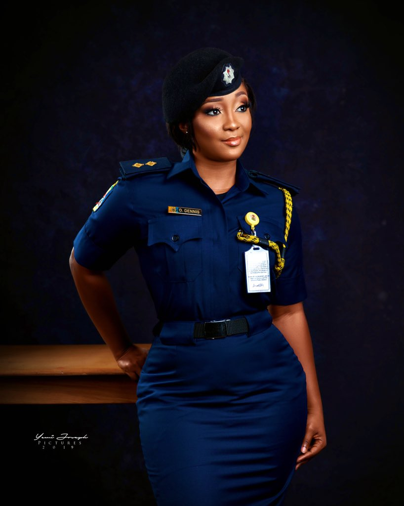 Image result for Stunning Nigerian female fire fighter shares lovely new photo