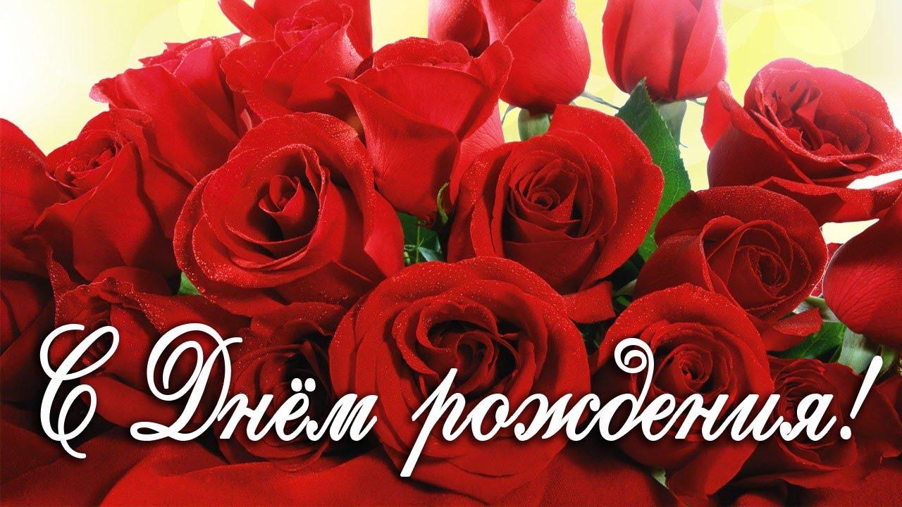 Картинка красивые розы с днем рождения