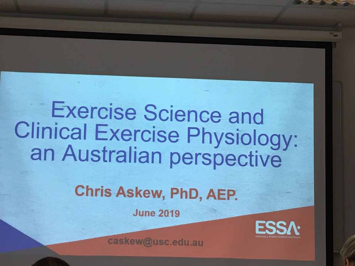 test Twitter Media - Day 2 of clinical #exercise meeting; kicking off with 🇦🇺 https://t.co/ppqI15HTkP