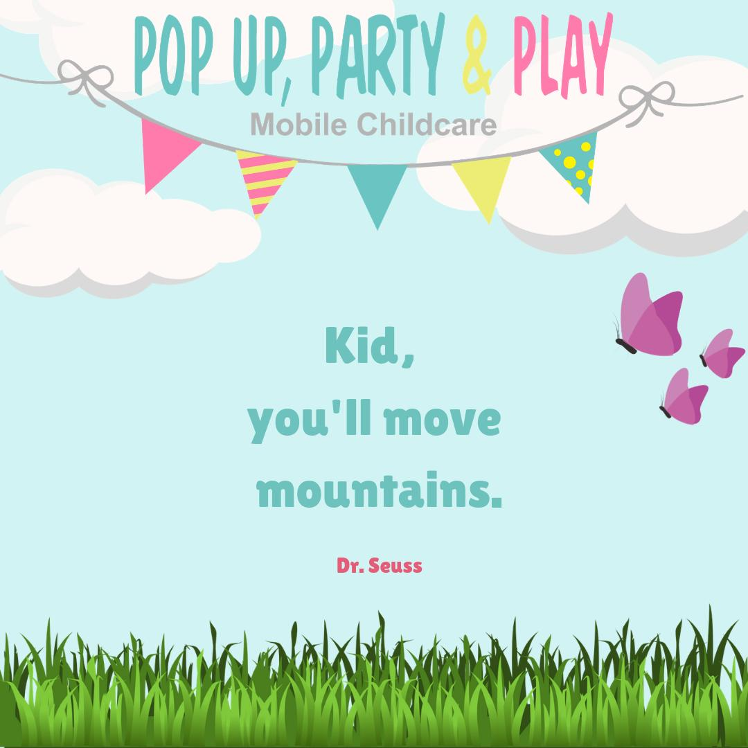 """""""Ain't no mountain high enough"""" 🎶 #unstoppable #drzeus #quoteoftheday #wednesdaywork #summertime #childcare #mobilecreche #party #motivation #laugh #fun #play #games #disco"""