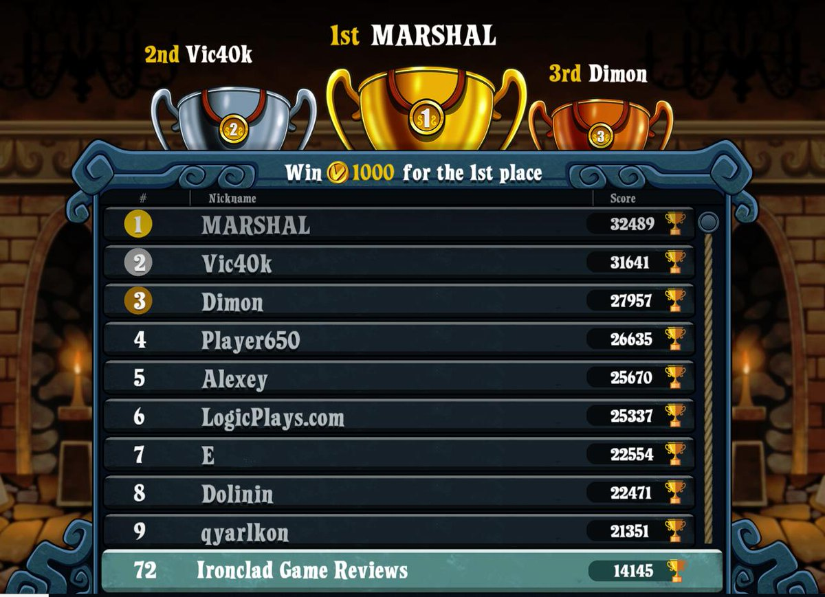 I may have had a little too much fun playing @VeraTowers_Game I ended up placing 72nd which was fun <br>http://pic.twitter.com/nl1kLA2zZy