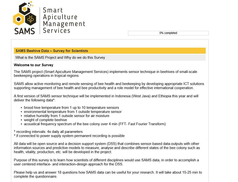SAMS - Smart Apiculture Management Services (@SAMS_EU_H2020) | Twitter