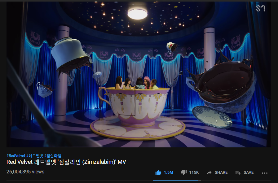 #Zimzalabim has surpasssed 26M views  We're coming for 30M!  Keep streaming, views are important for getting win on music shows!    https://www. youtube.com/watch?v=YBnGBb 1wg98   …   #Zimzalabim #RedVelvet @RVsmtown<br>http://pic.twitter.com/HV42yhI2JX