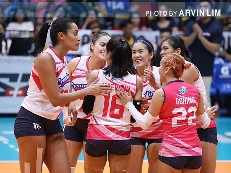 Cool Smashers stay HOT with their eighth straight WIN.  #PVL2019 »  http:// bit.ly/2YboJEh    <br>http://pic.twitter.com/txnTeHNhBk