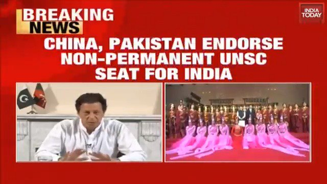 India receives support from China, Pakistan for non-permanent seat in UNSC. @Geeta_Mohan joins us for more on this. #ITVideohttp://bit.ly/it_videos