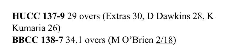 Love it when Extras top score.@hackneyumpires #CricketWorldCup