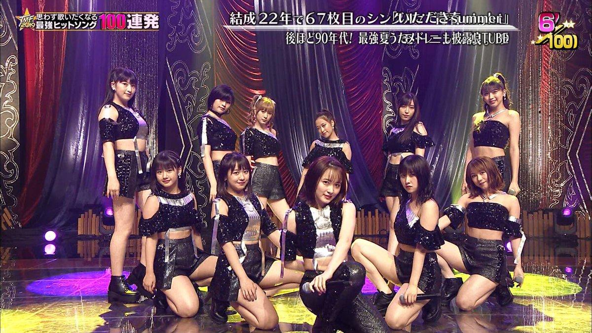 【速報】欅坂46さん、テレ東音楽祭で1組だけVTRのみの出演