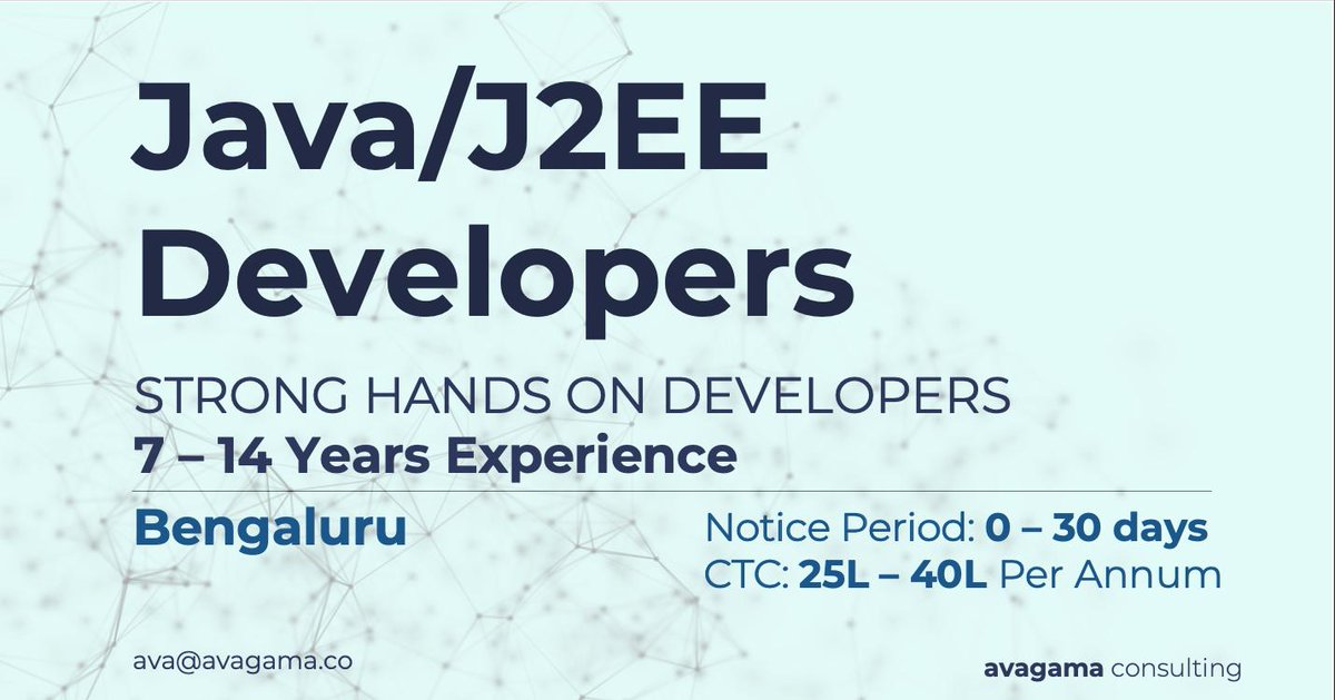 Java/J2EE Developers