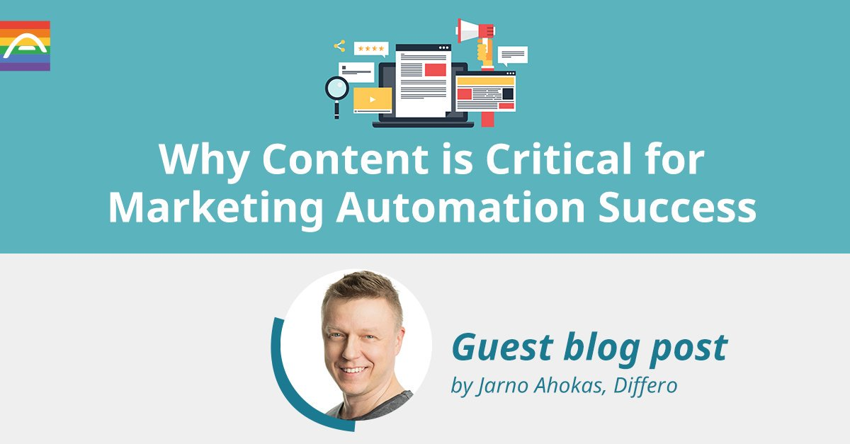 d53d2d8a72fa Jarno Ahokas from Differo Oy sure has! In this blog post, he'll share why  it's paramount for marketing automation if you want to rein in the results:  ...
