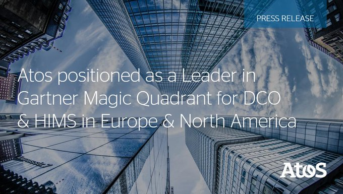 @Gartner_inc has positioned Atos as a Leader in its #MagicQuadrant for #DataCenter #Outsourcing...