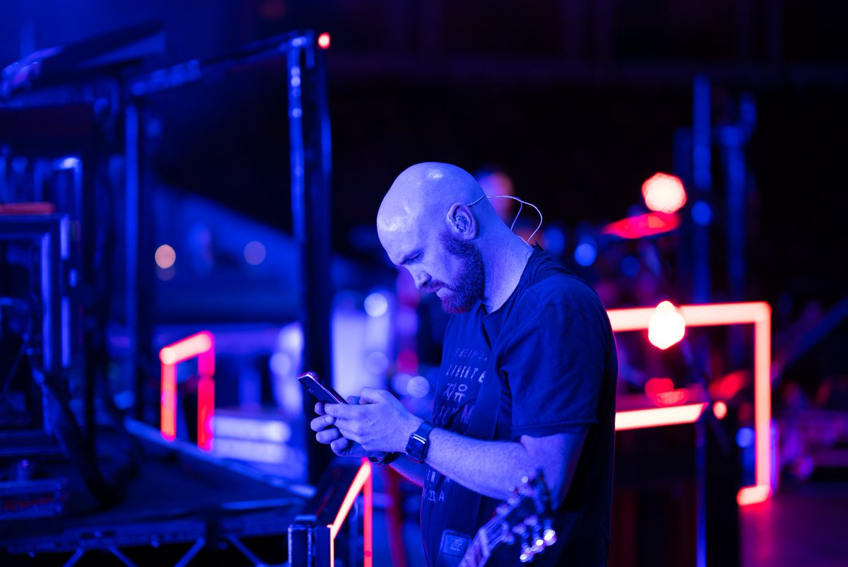 Always checking Twitter before a show for you guys to get us pumped up  What do you guys do to beat the nerves..? #TheScriptFamily<br>http://pic.twitter.com/0iUqiSwumf