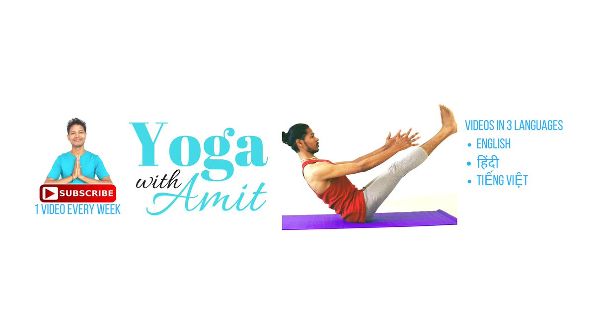 yogawithamit hashtag on Twitter