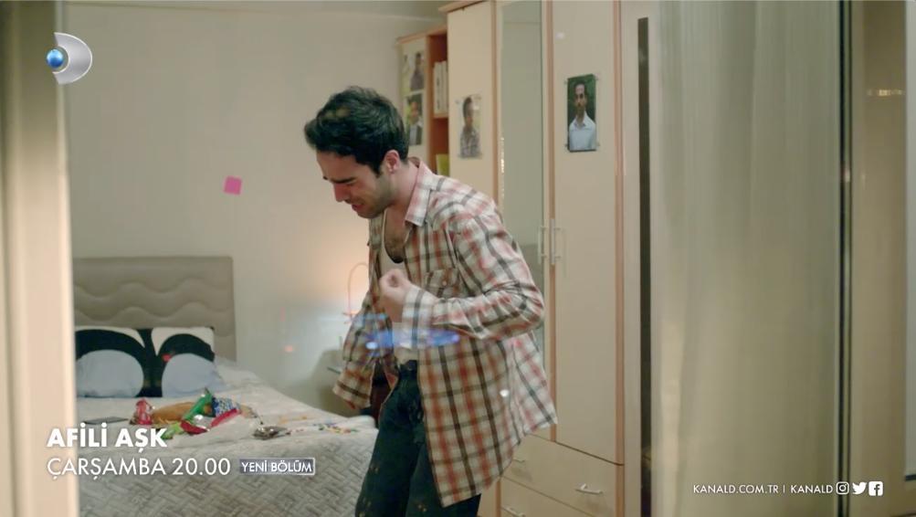 Ah be Sabri! 😢 #AfiliAşk, yeni bölümüyle çarşamba 20.00'de #KanalD'de! @afiliask