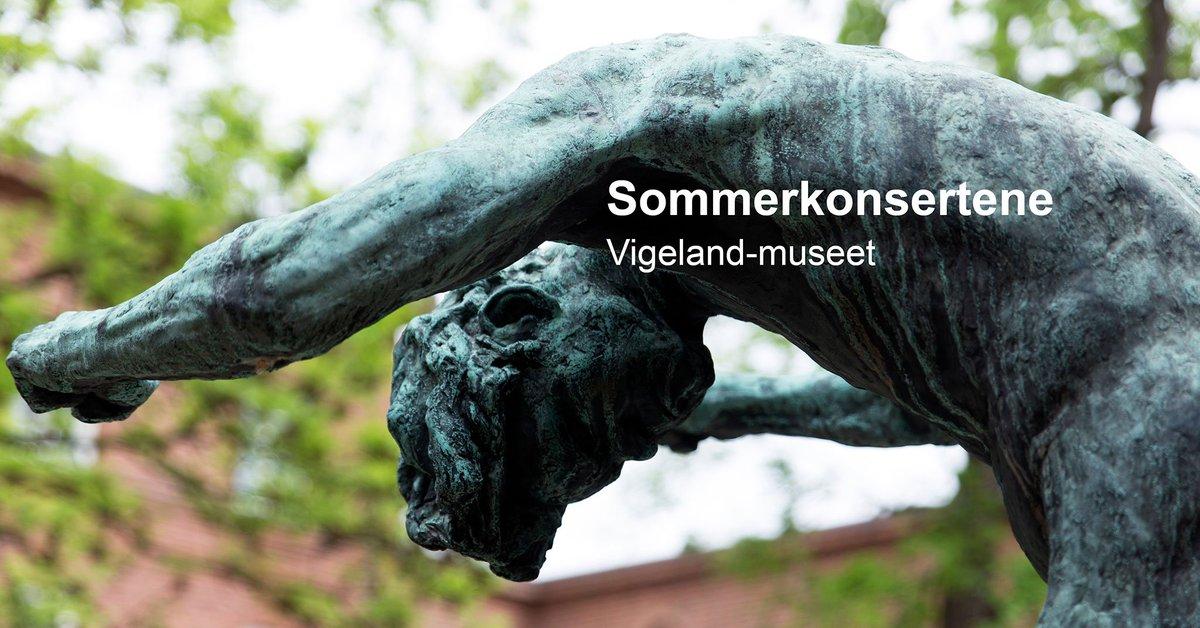Klassisk musikk i Gustav Vigelands Borggård? Hver eneste søndag i sommer byr Ole Bøhn på klassisk musikk i Vigeland-museet. Alle konsertene starter kl. 14.00 og billetter kjøpes i døra. vigeland.museum.no/arrangement/so… #vigelandjubileet #Vigeland150 #vigelandanniversary