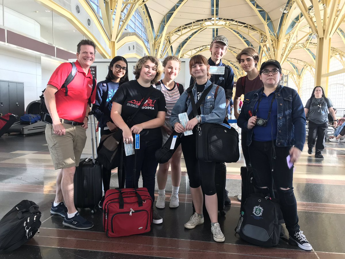 Two ACC TV Prod teams are ready to fly out to Louisville to compete in the SkillsUSA National Championships. <a target='_blank' href='http://twitter.com/CharlesRandolp3'>@CharlesRandolp3</a> <a target='_blank' href='http://twitter.com/Margaretchungcc'>@Margaretchungcc</a> <a target='_blank' href='http://twitter.com/APSCareerCenter'>@APSCareerCenter</a> <a target='_blank' href='https://t.co/YMkNb49FUA'>https://t.co/YMkNb49FUA</a>