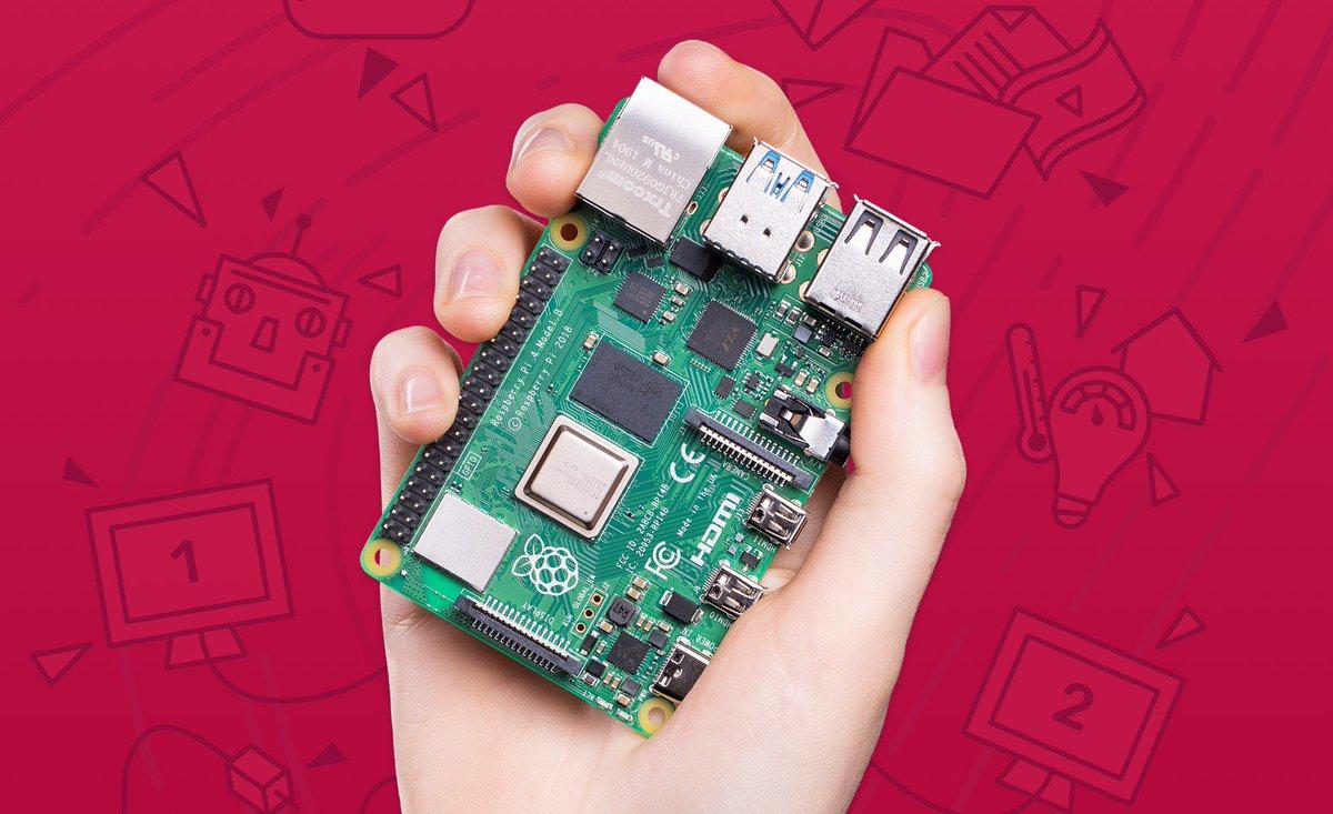 Le Raspberry Pi 4 muscle son jeu (jusqu'à 4 Go de RAM, HDMI 4K/60Hz, Wi-Fi 5, USB 3.0) https://t.co/MilMZaktWS https://t.co/xWDyfAnQFO