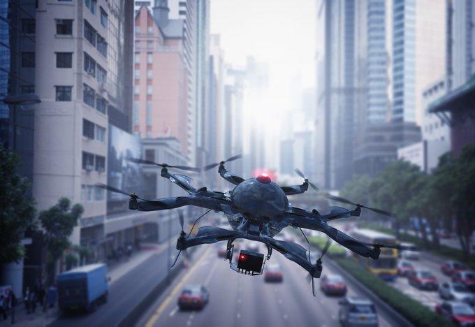 Los hospitales públicos de París y Nantes utilizarán drones para el envío de medicamentos...