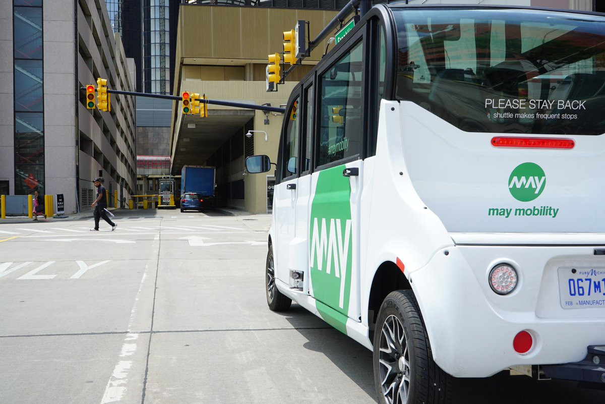 We spoke to CEO and Founder of @May_Mobility @edwinolson to find out how the #Detroit-based #startup is helping transform the city into a #mobility hub, utilising #autonomous technology for day-to-day #publictransport systems in urban environments: https://bit.ly/2X0mAtI