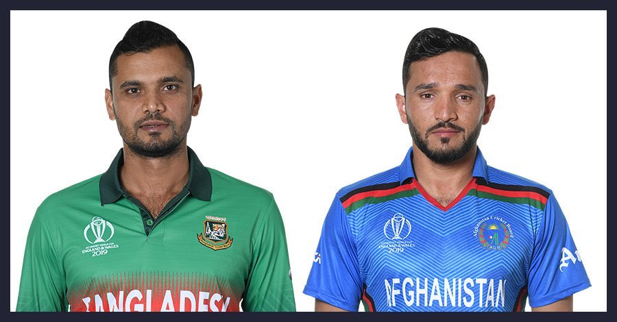 """Conditions will suit bowling,"" says Gulbadin Naib, and that's what Afghanistan will do firstAfghanistan will bowl first#CWC19  #BANvAFG"