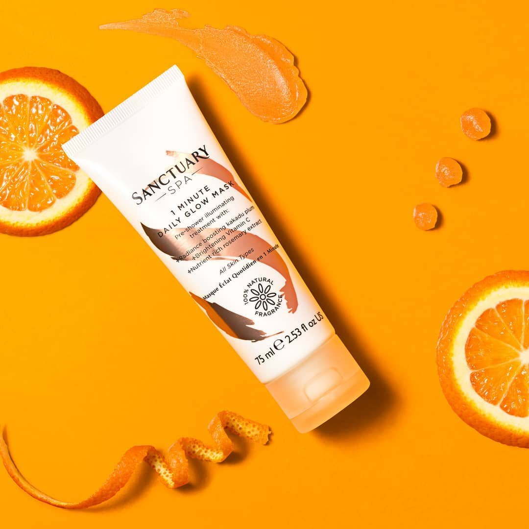 Get your skin glowing for the week ahead in just one minute ✨  So quick to use and ultra-effective, the Sanctuary Spa 1 Minute Daily Glow Mask uses a trio of Vitamin C-rich super fruits to brighten your skin and add luminosity: https://t.co/XljNWuX1lQ https://t.co/bqmi8HRijR