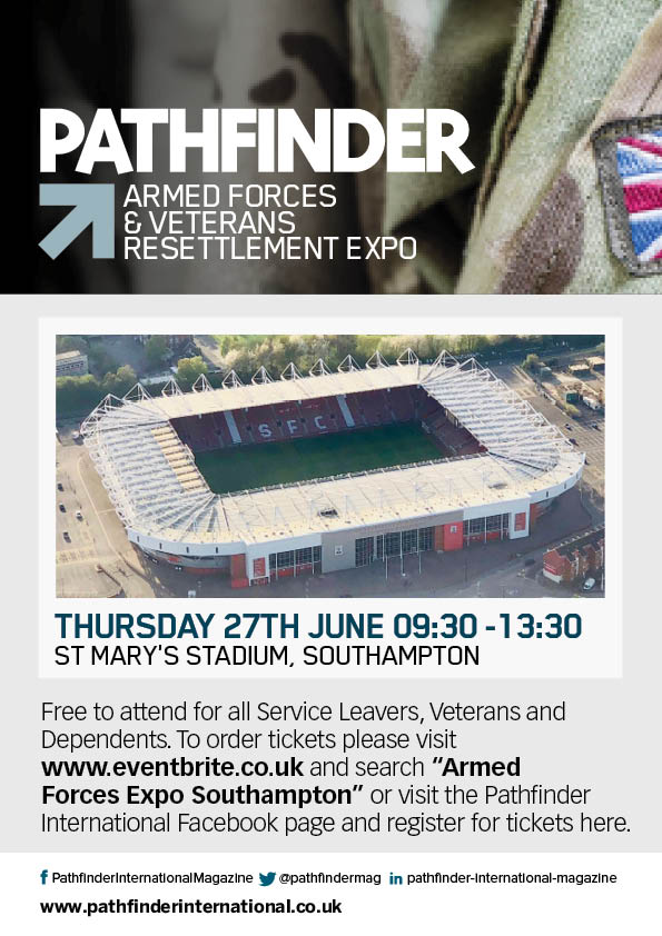 We have a stand at @pathfindermag Expo in Southampton on Thursday - tickets are free and its not too late to register click here 👉ow.ly/oJ7t50uLbQd or call 0191 442 0197 #armedforces #resettlement #pensions #military #veterans #jobs