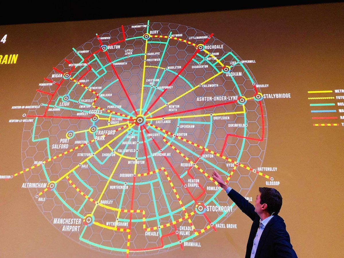 Andy Burnham has apparently announced for a Greater Manchester Combined Authority Death Star.